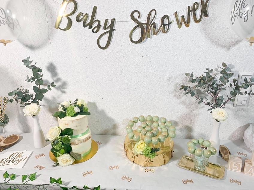 babyparty trend nat rlichkeit deko im greenery stil baby belly party blog